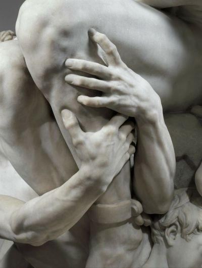 (Detail) Jean-Baptiste Carpeaux - Ugolino and his Sons, 1865–67,