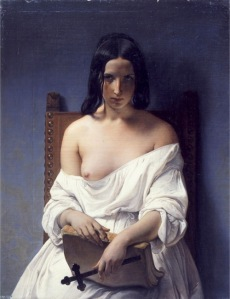 """Francesco Hayez """"La meditazione sulla storia d'Italia"""" (1851)"""
